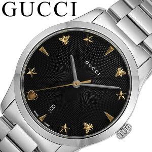 [当日出荷] グッチ 腕時計 GUCCI 時計 ジータイムレス G-Timeless メンズ ブラック YA1264029A [ 人気 おすすめ 高級 ブランド 大人 かっこいい メタル ベルト クラシック フォーマル ドレス ビジネス 就職 祝い 仕事 彼氏 恋人 ギフト プレゼント ]