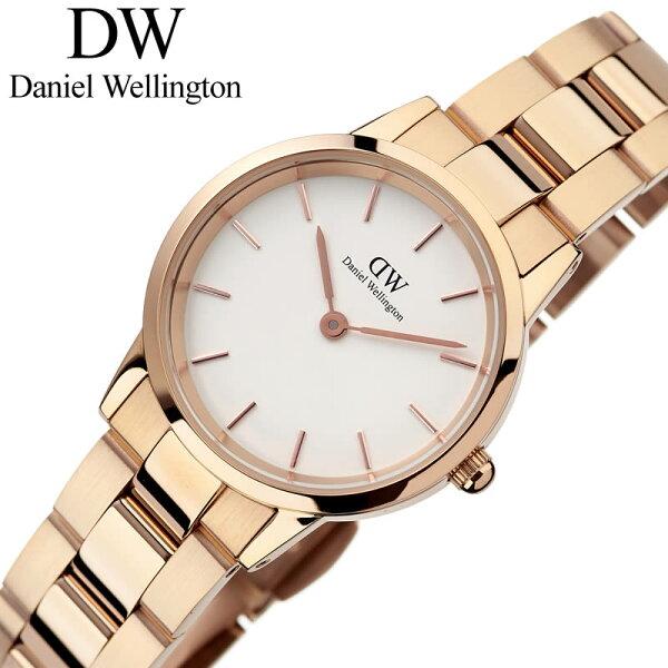 ダニエルウェリントン腕時計DanielWellington時計ダニエルウェリントンアイコニックリンクローズゴールド28mmIco