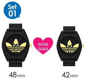 【限定ペアウォッチ】adidas時計アディダス腕時計adidas時計adidas腕時計アディダス時計サンティアゴSANTIAGOメンズレディースユニセックス/男女兼用/ブラックブルーADH2882ADH2877[スポーツウォッチXLプレゼント祝いギフト記念][送料無料][lcw]