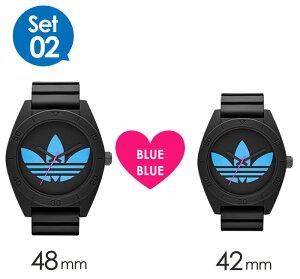 【限定ペアウォッチ】adidas時計アディダス腕時計adidasoriginals腕時計アディダスオリジナルス時計adidasoriginals腕時計アディダス時計サンティアゴSANTIAGOメンズレディースブラックブルーADH2882ADH2877[XLプレゼント祝いギフト記念][送料無料]