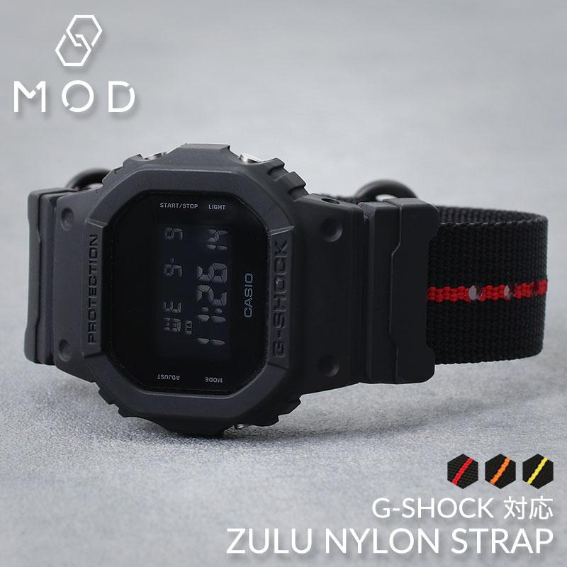 腕時計用アクセサリー, 腕時計用ベルト・バンド GSHOCK 5600 110 9052 G CASIO GSHOCK G-SHOCK NATO ZULU DW 5600BB GA GW M5610