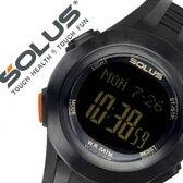 【5年保証対象】ソーラス腕時計[SOLUS時計 SOLUS 腕時計 ソーラス 時計 ]心拍時計[ハートレートモニター]/メンズ/レディース/男女兼用時計/01-101-01 [正規品 スポーツ ダイエット エクササイズ][送料無料][プレゼント/祝い]
