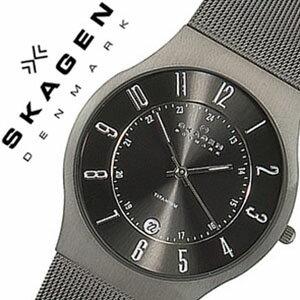 スカーゲン腕時計[SKAGENSKAGEN腕時計スカーゲン時計]チタニウム[チタン]/メンズ時計233XLTTM[送料無料][プレゼント/ギフト/お祝い/卒業祝い]