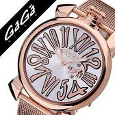 ガガミラノ [ GaGaMILANO ] ガガミラノ 腕時計 [ GaGaMILANO 腕時計 ] ガガ ミラノ [ GaGa MILANO ] ガガミラノ 時計 [ GaGaMILANO時計 ] ガガ腕時計 [ GaGa腕時計 ] スリム 46MM プラカット オロ[SLIM 46MM PLACCATO ORO]メンズ/レディース/GG-5081.2[人気/新作][送料無料]