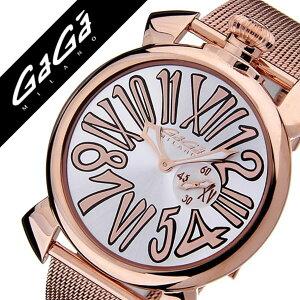 ガガミラノ腕時計[GaGaMILANO時計GaGaMILANO腕時計ガガミラノ時計]スリム46MMプラカットオロ[SLIM46MMPLACCATOORO]/メンズ時計GG-5081.2送料無料【_包装】