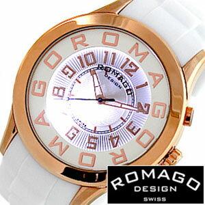 ロマゴ腕時計ROMAGODESIGN時計ロマゴデザイン腕時計ROMAGODESIGNロマゴデザインROMAGO腕時計ロマゴ時計アトラクションシリーズ[ATTRACTIONSERIES]/メンズ/レディース/男女兼用時計ディース時計/RM015-0162PL-RGWH[ブランド祝いギフト激安][送料無料][10倍]