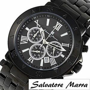 サルバトーレマーラ腕時計[SalvatoreMarraSalvatoreMarra腕時計サルバトーレマーラ時計]/メンズ時計SM8005IPBK[送料無料][msw][mpw][プレゼント/ギフト/お祝い/卒業祝い]