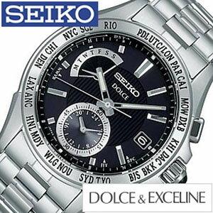 セイコー腕時計[SEIKO時計SEIKO腕時計セイコー時計]ドルチェ×エクセリーヌ[DOLCE×EXCELINE]/メンズ時計/SADA003[送料無料][mpw][プレゼント/ギフト/祝い/入学祝い]