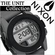 ニクソン 時計 [ NIXON 時計 ] ニクソン 腕時計 [ NIXON ] ニクソン時計 [ NIXON時計 ] ユニット[UNIT]グレー/ブラック/メンズ/レディース/A197-195 [人気/スポーツウォッチ/スポーツ/ブランド/サーフィン/防水][送料無料]