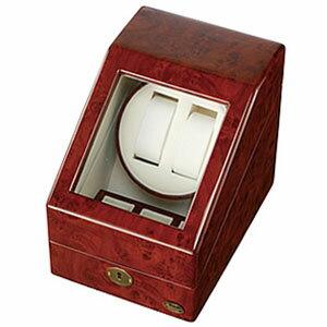 自動巻き上げ機[自動巻き機]ワインディングマシーン腕時計/時計ワインディングマシン/マシーン/ウォッチワインダー/ウォッチワインダー[ワインダー]時計ケース腕時計ケース腕時計ケース木製/1本/2本/4本/木製2連[自動巻/ディスプレイ/インテリア/機械式][送料無料]
