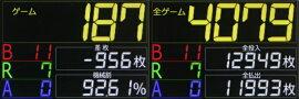 タッチパネル式IPS液晶データカウンター