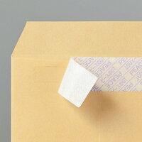 ピースR40再生紙クラフト封筒テープのり付角385g/m2業務用パック6791箱(500枚)