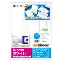 ヒサゴ ビジネス名刺 A4 10面 ホワイト BX05 1冊(100シート) 【送料無料】
