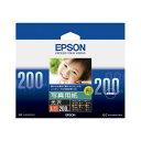 エプソン写真用紙<光沢>L判KL200PSKR1箱(200枚)
