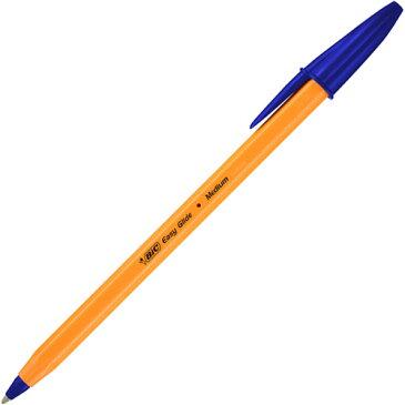 BIC 油性ボールペン ビックオレンジ 1.0mm 青 E−ORMJ20EGBLU 1箱(20本)