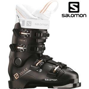 SALOMON サロモン 18-19 スキーブーツ X MAX 110 W エックスマックス 110W〔2019 オールラウンドモデル 上級者 女性用〕 (Black-Metablack):L40549600 [outlet boot]