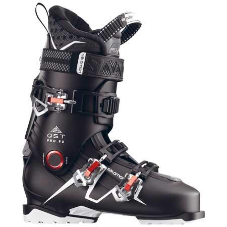 サロモン Salomon 17-18 QST PRO 90 スキーブーツ (BKAN):L39153600:パドルアウトドアクラブ