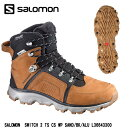 2016SALOMON������ڥ����󥿡����塼���ۡ�SHOES��SWITCH2TSCSWP�������å�2TS���饤�ޥ�����ɥ����������ץ롼��(SandBlack)��L36643300