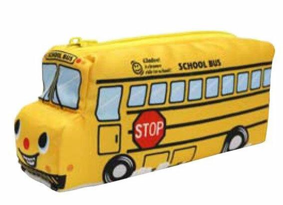 gladeeNEWスクールバスペンケース