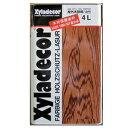 【送料無料】木材保護塗料キシラデコール105カスタニ4L