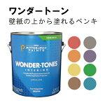 【あす楽・送料無料】臭いがしないペンキ(選べるユニークカラー8色・フラット)0.95L/5平米