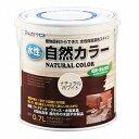 【あす楽】アトムハウスペイント(塗料/ペンキ)水性自然カラー(自然塗料)0.7Lナチュラルホワイト