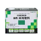 アトムハウスペイント油性床用塗料グリーン7L【あす楽】