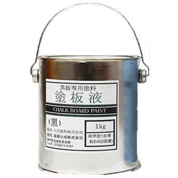 【1/1〜1/3限定CP配布中】黒板塗料 緑 1kg 約4m2分 黒板の新規作成や塗替えに 塗料販売