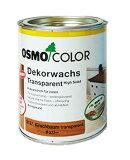 【 おまけ付 】 オスモカラー ウッドワックス 3164オーク 0.75L(約15平米分) オスモ&エーデル 木部 屋内用 自然塗料 赤ちゃん 安全 塗料 おすも OSMO