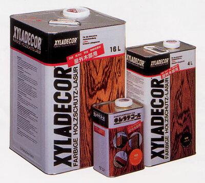 木部に浸透し内部から防腐・防カビ・防虫効果を発揮します。キシラデコール(XYLADECOR) 4L #1...