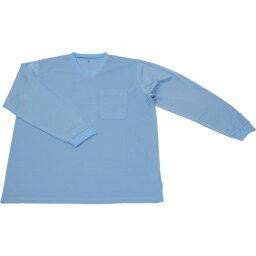 TRUSCO 保護服用インナー サラ感インナー 長袖シャツ XXLサイズ(TR6001TXXL)