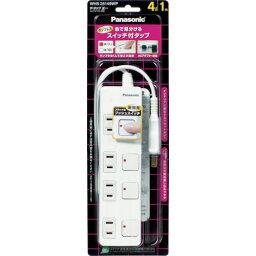Panasonic ザ・タップZ ACアダプター対応 3コ口 3mコード付 ホワ(WHS25339WP)