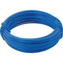 TRUSCO カラー針金 小巻タイプ・18番手 青 線径1.2mm(T...