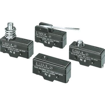 OMRON マイクロスイッチ パネル取付ローラー押ボタン形 はんだ付け端子(Z15GQ22)お取り寄せ品