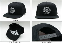 BRIXTON OATH 3 SNAPBACK CAP ブリクストン キャップ キャップ スナップバックキャップ 帽子 ベースボールキャップ
