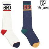 ブリクストン ソックス BRIXTON WOODS SOCK 靴下 ハイソックス スケーターソックス