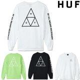 HUF ESSENTIALS TT L/S TEE ハフ ロンT ロングスリーブT Tシャツ T-SHIRT 長袖T プリントT ティーシャツ