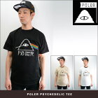 POLeRCAMPINGSTUFFPSYCHEDELLICTEE(2色展開)【正規取扱店】【ポーラー-Tシャツ】