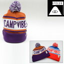 POLeR CAMPING STUFF GAS STATION BEANIE (2色展開) 【正規取扱店】 ポーラー キャップ 635004