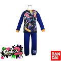 【スプラトゥーン2】光るパジャマDX/【バンダイ】キャラクター・スムース・長袖・ボーイズパジャマ(42686)