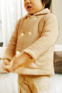 c2646ba9a83bb ふんわり軽い♪ニットのあったかピーコート 子供服(男の子用・女の子用 ...