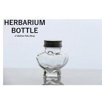 ハーバリウム 瓶 80mL ミニ ハート型 キャップ付きガラス瓶 ハーバリウム ボトル 透明 容器