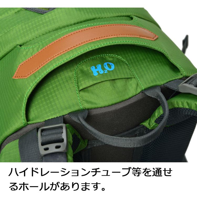 ニア(Paladineer)ハイキングバックパック アウトドア 40L 大容量 撥水加工 リュック レインカバー付き トレッキング サイクリング 防災 登山 旅行
