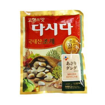 【当店おすすめ】『CJ』プレミアム あさりダシダ(300g) だしの素 韓国調味料 韓国料理 韓国食材 韓国食品 \韓国産あさりに、かきやえびを加えた豊かな味わい/マラソン ポイントアップ祭