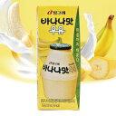 『ビングレ』バナナミルク | バナナ味牛乳(200ml)ビン...