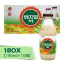 『ション食品』ベジミルB(瓶)1BOX(=190ml×10本) 豆乳 甘い 韓国飲料 韓国飲み物 韓国ドリンク 韓国食品\畑のお肉言われる豆乳の栄養成分が凝縮されている健康食品/マラソン ポイントアップ祭