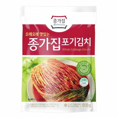 【冷蔵】【当店おすすめ】『宗家』白菜ポギキムチ(500g)チョンガ白菜キムチ韓国キムチ韓国食材韓国料理韓国食品マラソンポイントアップ祭