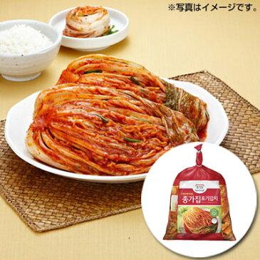 『宗家』白菜キムチ|ポギキムチ(5kg)チョンガ 白菜キムチ 韓国キムチ 韓国食材 韓国料理 韓国おかず 韓国食品\ほんのり甘くて、ちょっぴり辛くて、甘辛いキムチ/マラソン ポイントアップ祭 スーパーセール