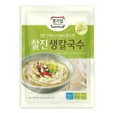 [冷蔵]『宗家』もっちり生カルグクス|韓国風生きし麺(450g・3玉入り) 生麺 麺料理 韓国麺 韓国食材 韓国食品マラソン ポイントアップ祭