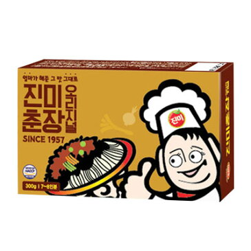 『珍味』チュンジャン ジャージャーソース(300g) じゃじゃ麺 チャジャン 黒味噌 韓国調味料 韓国料理 韓国食材 韓国食品 マラソン ポイントアップ祭